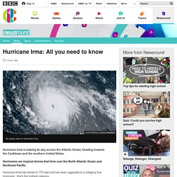 Hurricane Irma: All you need to know - CBBC Newsround