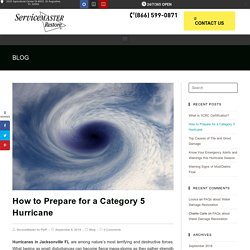 How to Prepare for a Category 5 Hurricane in Jacksonville FL