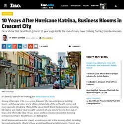 10 Years After Hurricane Katrina, Business Blooms in New Orleans
