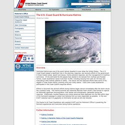 U.S. Coast Guard & Hurricane Katrina, Historical Index