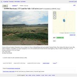 Hurricane, UT Land for Sale- 1.63 acres