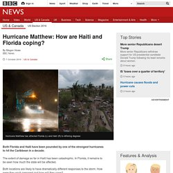 Hurricane Matthew: How are Haiti and Florida coping?