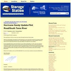 Hurricane Sandy Update-Flint Road/South Toms River