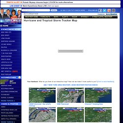 Hurricane Tracking Map and Radar | 7online