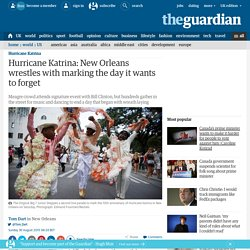 Hurricane Katrina: New Orleans wrestles with marking the day it wants to forget