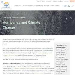 Hurricanes and Climate Change — Center for Climate and Energy Solutions