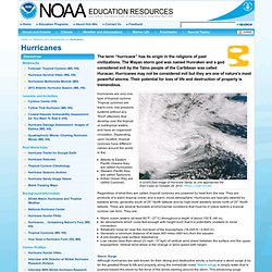Education Resources: Hurricanes Collection