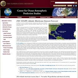 Hurricanes - FSU COAPS