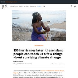 150 hurricanes later, these island people can teach us a few things about surviving climate change