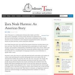Zora Neale Hurston: An American Story