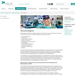 HUS - Neurosurgery