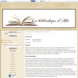 Hush, hush - La bibliothèque d'Allie