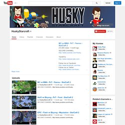 HuskyStarcraft's Channel