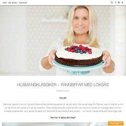 Husmansklassiker - Pannbiffar med löksås