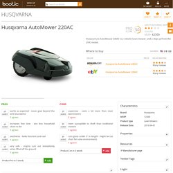 Husqvarna AutoMower 220AC