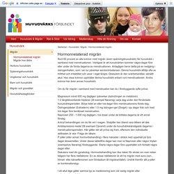 Huvudvärksförbundet - Hormonrelaterad migrän
