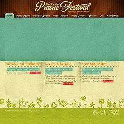 Huxley Prairie Festival - Home