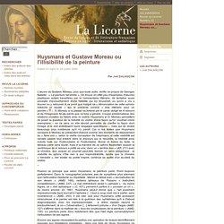 La Licorne - Huysmans et Gustave Moreau ou l'illisibilité de la peinture