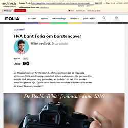HvA bant Folia om borstencover - Folia