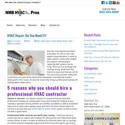 HVAC Repair: Do You Need It?