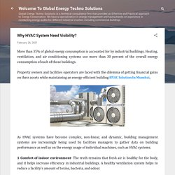 Why HVAC System Need Visibility?