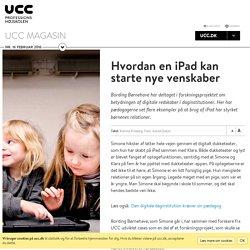 Hvordan en iPad kan starte nye venskaber
