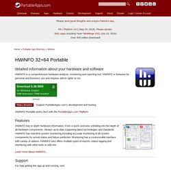 HWiNFO 32+64 Portable