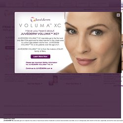 Home - JUVÉDERM® (Cross-Linked Hyaluronic Acid): A Next-Generation Dermal Filler — www.Juvederm.com