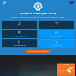 Hybrid App Development Company India