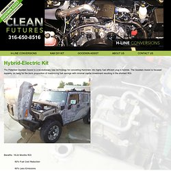 Hybrid Electric Car Truck Hummer H1 H2 Kit - Clean Futures
