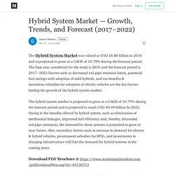 Hybrid System Market — Growth, Trends, and Forecast (2017–2022)