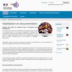 Hybridation en documentation — Site Prof-doc