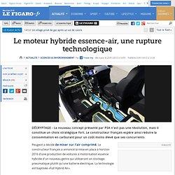 Le moteur hybride essence-air, une rupture technologique