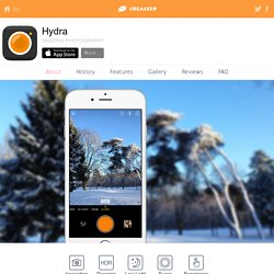 Hydra for iOS 9 - Amazing Photography — About