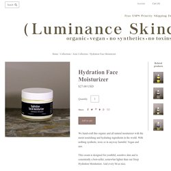 Naturally Rich – Luminance Skin Care.