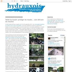 Hydrauxois: Vallée du Cousin: protéger les moules... sans détruire les moulins!