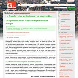 Les hydrocarbures en Russie, entre promesses et blocages