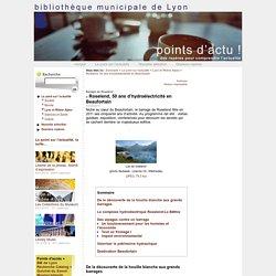 Roselend, 50 ans d'hydroélectricité en Beaufortain