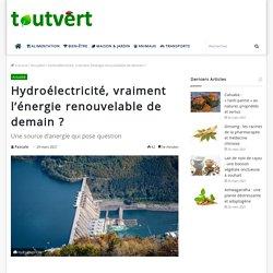 Hydroélectricité : est-ce réellement un énergie verte ?