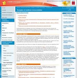 Hydroélectricité / Energies et matières renouvelables / Domaines d'intervention / L'ADEME en Bourgogne