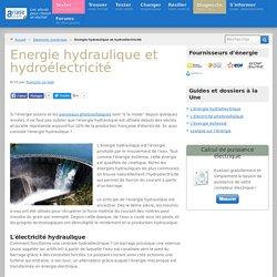 L'énergie hydroélectrique, une énergie renouvelable d'avenir
