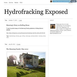 Hydrofracking Exposed