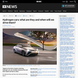 Hydrogen cars: what are they and when will we drive them?