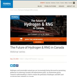 The Future of Hydrogen & RNG in Canada