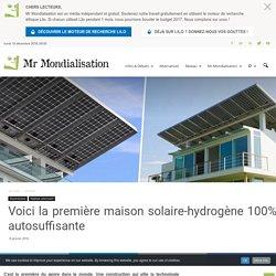 Voici la première maison solaire-hydrogène 100% autosuffisante