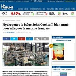 Hydrogène : le belge John Cockerill bien armé pour attaquer le marché français