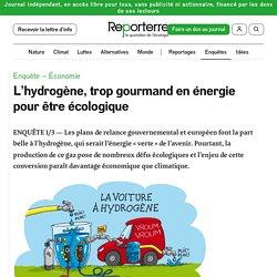 L'hydrogène, trop gourmand en énergie pour être écologique