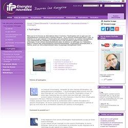 L'hydrogène, toutes les questions sur l'hydrogène, IFP Energies nouvelles