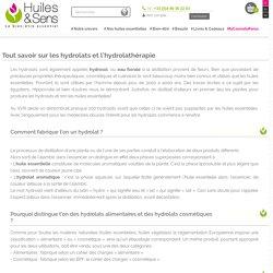 Hydrolats & Hydrolathérapie