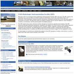 USGS Hydrologic Instrumentation Facility